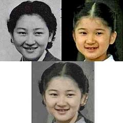 愛子さま、お若い頃の美智子さまにそっくりなんだね。